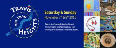 13th Annual Travis Heights Art Trail 2015